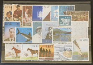 Ireland 20 different MNH, as pictured