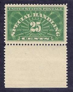 QE4;  MNH,  25c. Special Handling,  EF+,  scv: $37.50