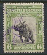 North Borneo  SG 167 SC# 142 Used perf 13½ x 14 see scan & details