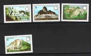 Belize SC680-683 Mayan, Cerros Monuments MNH 1983