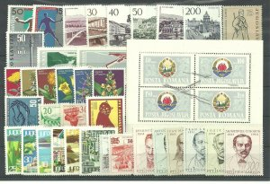 YUGOSLAVIA  1965  complete year collection MNH
