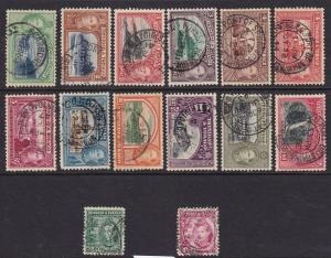 Trin & Tob Scott # 50 - 61 set VF sound used with nice color cv $ 60 ! see pic !