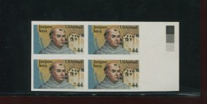 Scott C116a Airmail Imperf ERROR Block of 4 Stamps with PF Cert (Stock C116-PF)