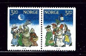 Norway 999-1000 MNH 1991 Christmas