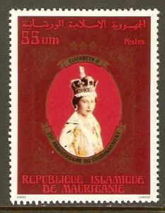 Mauritania #398 NH 55um Queen Elizabeth II
