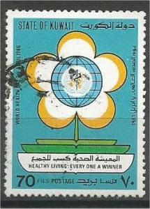 KUWAIT, 1986, used 70f, World Health, Scott 1012