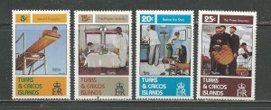 Turks & Caicos Islands MNH 527-30 Norman Rockwell Photos
