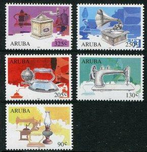 HERRICKSTAMP NEW ISSUES ARUBA Sc.# 527-31 Antiques