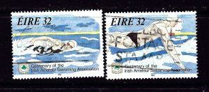 Ireland 899-900 Used 1993 Swimming