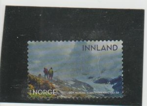 Norway  Scott#  1855  Used  (2018 Hikers)