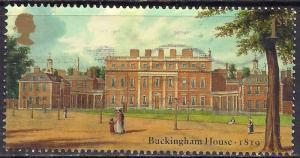 GB 2014 QE2 1st Buckingham Palace used stamp SG 3592 ( D1025 )