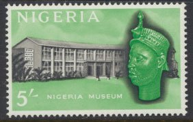 Nigeria  SG 99 SC# 111 MH 1961 Definitive Nigeria Museum  please see scan