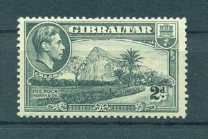 Gibraltar sc# 110 mhr cat value $1.40