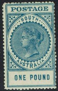 SOUTH AUSTRALIA 1904 QV THICK POSTAGE 1 POUND MNH ** PERF 12.5