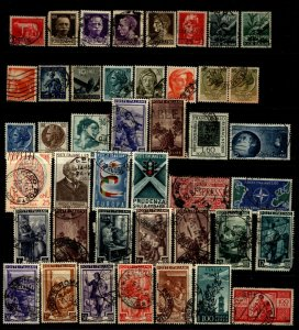 Italy 1929 - 49  Selection Singles & Short Sets 43 Stamps F