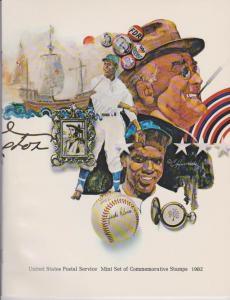 USA -1982 SOUVENIR MINT SET-MINI ALBUM. LOT#US270