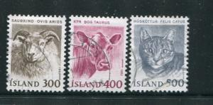 Iceland #556-8 Used