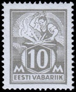 Estonia Scott 89 (1928) Mint NH VF, CV $9.00