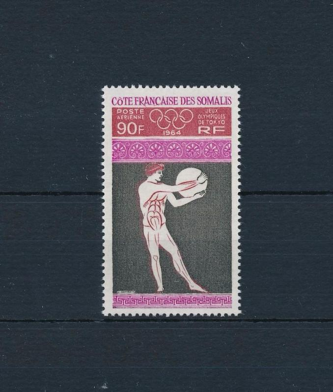[61103] French Somali Coast 1964 Olympic games Tokyo MNH