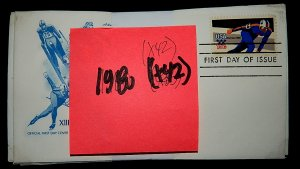 FDCs - 1980 COMMEM YEAR SET - x42 - see photo