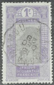 DYNAMITE Stamps: French Guinea Scott #96 – USED