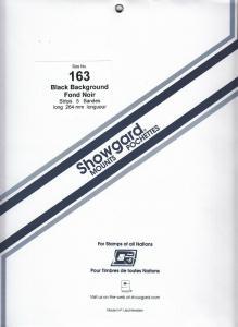 SHOWGARD BLACK MOUNTS 264/163 (5) RETAIL PRICE $14.95