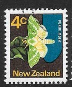 NEW ZEALAND SG919aw 1970 4c WMK SIDEWAYS FINE USED