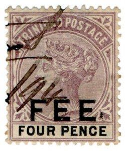 (I.B) Trinidad & Tobago Revenue : Fee 4d