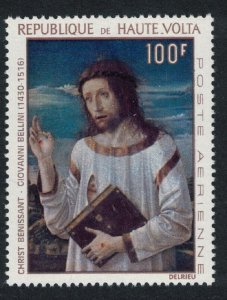 Upper Volta 'Christ giving Blessing. Painting by Bellini 1967 MNH SG#221
