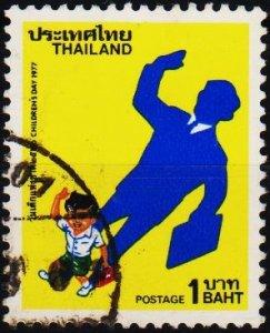 Thailand. 1977 1b S.G.917 Fine Used