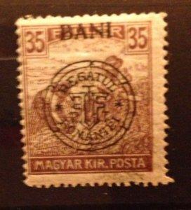 Hungary 1916, MNH 35f ,(Kolozsvar) Very Fine Scott  5N8