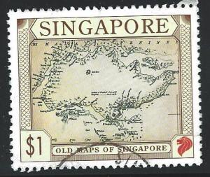 Singapore Used Scott cat.# 749