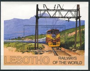 Lesotho; 1984: Sc. # 458: **/MNH Souvenir Sheet