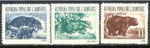 Albania Mi.627-29 MNH Animals