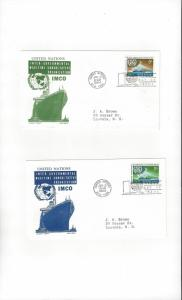 United Nations 123-4  IMCO  Cachet Craft Ken Boll FDC