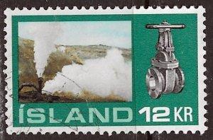 Iceland ~ Scott # 444 ~ Used