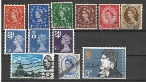 Great Britain Used QE II lot 191001-3