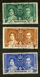 BAHAMAS 97-9 USED SCV $3.05 BIN $1.25 ROYALTY