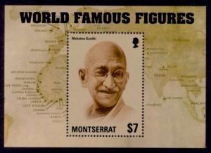 Montserrat Sc# 1354 MNH Famous World Figures (S/S)