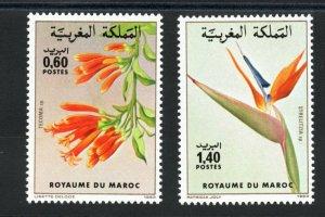 1983 - Morocco - Maroc- Flowers - plants- Fleurs- Plantes - Compl.set 2v.MNH**