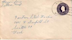 United States, Montana, Postal Stationery