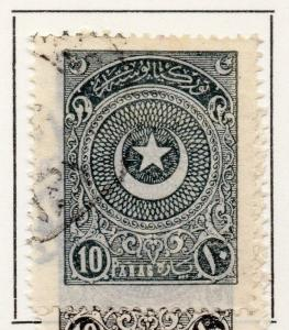 Turkey 1923-24 Definitive Star and Crescent Issue Fine Used 10p. 066837