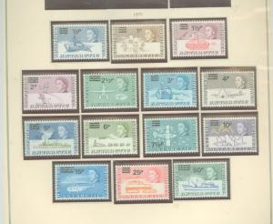 British Antarctic Territory 25-38 Mint VF NH
