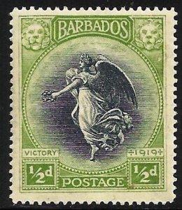 Barbados 1920 Scott# 141 MH