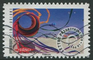 FRANCE 2014 - Lettre Prioritaire 20g USED SELF-ADHESIVE