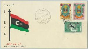 67134 - LIBYA  - Postal History -   FDC COVER  1966: BOY SCOUTS - RARE!