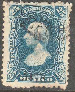 MEXICO 109, 25¢ 5478 ABN Issue, single, USED. F-VF (34)