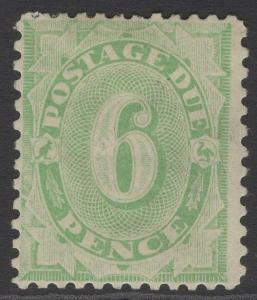 AUSTRALIA SGD57 1907 9d DULL GREEN POSTAGE DUE MTD MINT