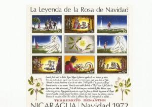 NICARAGUA1972 SCOTT C821 MNH