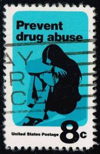 US #1438 Prevent Drug Abuse; Used (0.25)